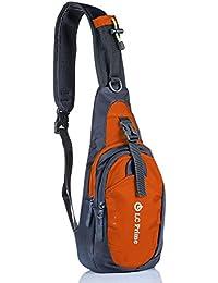 b4b04ad4a4 LC Prime Sling Bag Chest Shoulder Unbalance Gym Fanny Backpack Sack Satchel  Outdoor Bike