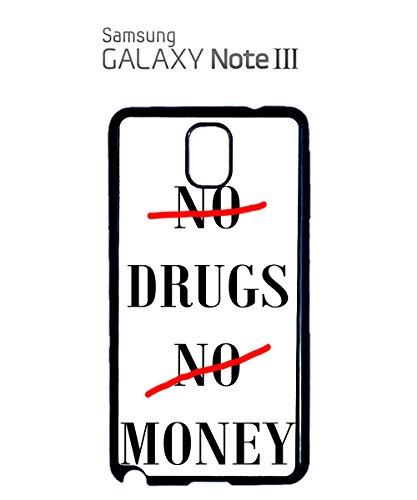 No Drugs No Money Mobile Cell Phone Case Samsung Galaxy S5 Black Noir