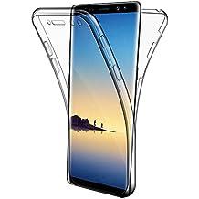"""Cover Galaxy Note 8 , Leathlux Custodia Galaxy Note 8 Silicone Morbido Trasparente TPU Full Protettiva Cassa Resistente Ai Graffi Case Per Samsung Galaxy Note 8 6.3"""""""