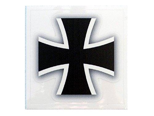 Café Viereck ® Bundeswehr Eisernes Kreuz Aufkleber - 5 cm x 5 cm