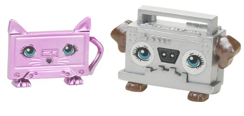 Polly Pocket–t4241–Puppe–Duo Cutant–Lustige dogblaster und chassette