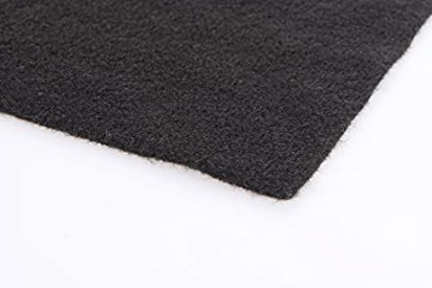 Acoustic Black Carpet Cloth Bass Box Shelf Car Van Trim Free Delivery
