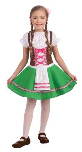 Forum Gretel Girls Costume M (Gretel Kostüm Kinder)