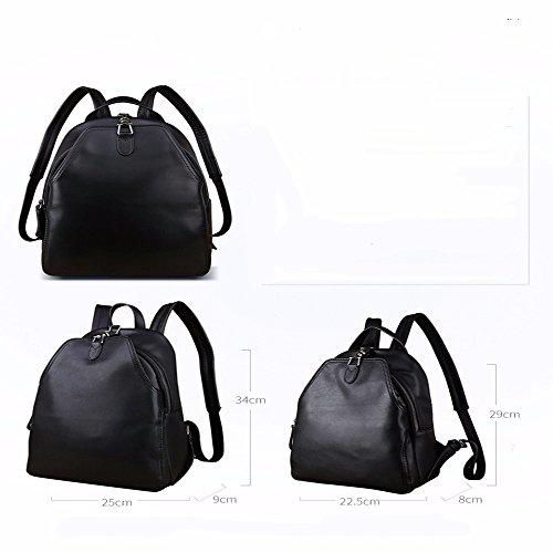 TBB-Double borsa a tracolla in pelle borse femmina grande capacità attività ricreative all'aperto,piccola Large