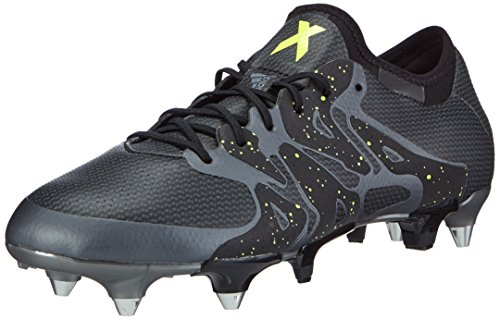 adidas X15.1 Sg, Chaussures de football homme Noir (core Black/solar Yellow/night Met. F13)