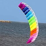 Harlls 2.7m Rainbow Dual Line Kitesurfing