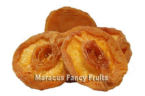 Pfirsiche getrocknet, entsteint, halbiert, ohne Zucker, leicht geschwefelt, ungezuckerte getrocknete Pfirsich Hälften, ohne Stein, fruchtiger Snack direkt aus der Natur, leckere Trockenfrüchte für Jedermann, als Zutat im Müsli, zum Backen oder einfach für Zwischendurch wenn der kleine Hunger kommt, 500g