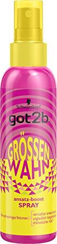 Got2B approccio Boost Spray dimensioni Wahn Halt 4, confezione da (3X 150ML)