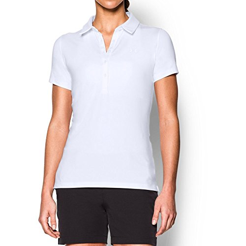 Under Armour Polo – Damen, Weiß, 1272336 (Under Armour Polos Frauen)