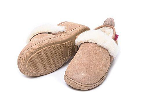 Pantofole pelle di pecora ANDREA 41/42