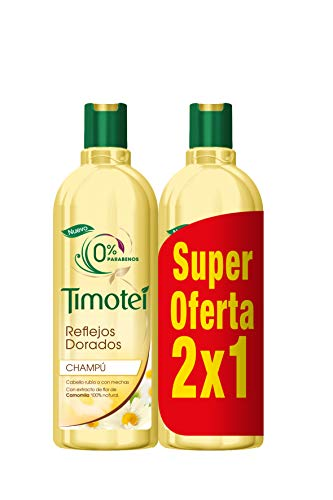 Timotei Champú 2 en 1 Reflejos Dorados - 400 ml
