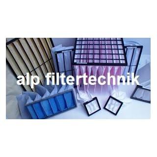 Bag filter 592X592X600°F7Frame 25mm Pollen Filter Bagfilter Fine Filter Vacuum Filter Bags Kitchen Catering Box