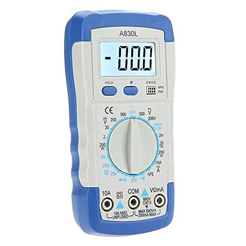 kkmoon Pocket A830L Digital Multimeter Multimeter Ammeter Voltmeter ohmmètre HFE