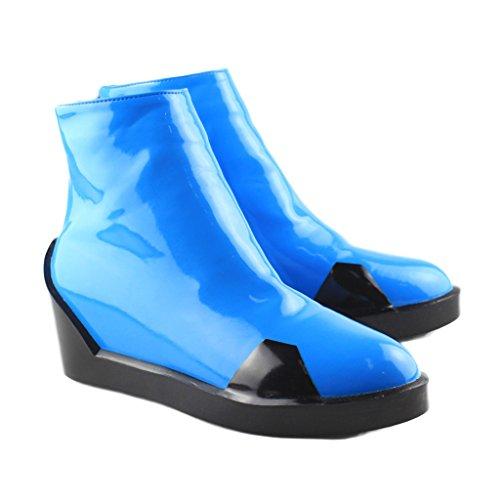 Neon Genesis Evangelion Soryu Langley Asa Kostuem De Kopf (Bleu) Chaussures Frauen 37