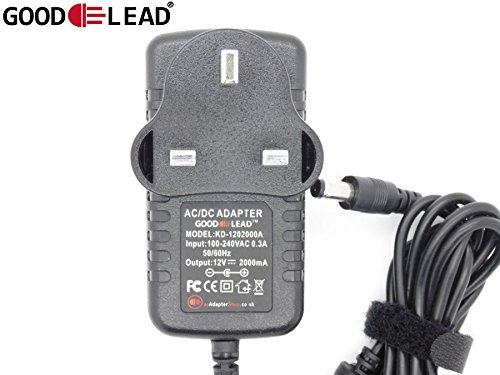 GOOD LEAD 12V 2A Mains AC DC Adapter Power Supply For LG Flatron PC Monitor - UK SELLER