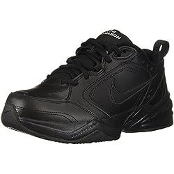 Nike Air Monarch IV(4E) Men's Training Shoe (7.5, Black/Black)