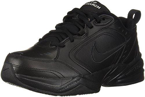 Nike Air Monarch IV Hommes Noir Large Cuir Pointure EU 46