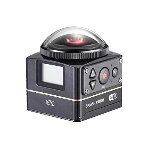 Kodak SP360 4K Explorer Pixpro Action Kamera Pack schwarz