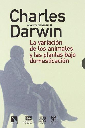 Variacion De Los Animales Y Plant (BIBLIOTECA DARWINIANA) por Charles Darwin