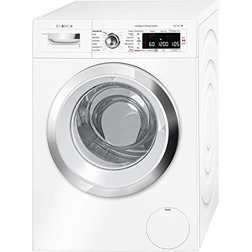 Bosch Serie 8 i-DOS WAWH8660GB 9kg 1400rpm Freestanding Washing Machine -White