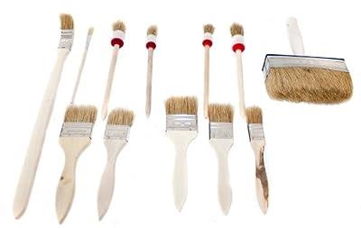 12 tlg Pinselset Malerpinsel Pinsel Lackierpinsel NEU von cs-1a-shop bei TapetenShop
