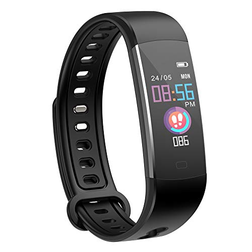 41rfrBFgv9L. SS500  - moreFit Kids Fitness Tracker with Heart Rate Monitor, Waterproof Activity Tracker Watch with 4 Sport Modes, Sleep Monitor Fitness Watch with Call & SMS Reminder Alarm Clock, Great Gift