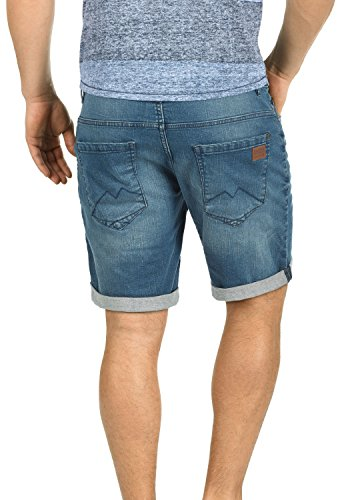 BLEND Grilitsch - shorts da uomo Denim middleblue (76201)