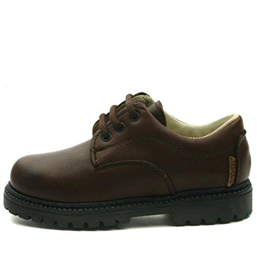 BOSTON Step2wo School Shoe Laceup for Boys >      > Chaussures à lacets de l'école pour les garçons Brown (marron)