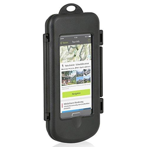 Wicked Chili Smartphone Splash Box M für Samsung, LG, HTC, Sony, Nokia, Wiko, Huawei (max. Maße: 145 x 78 x 13.4 mm, Spritzwasserschutz IPX4, Antireflexive Folie, Made in Germany), Case