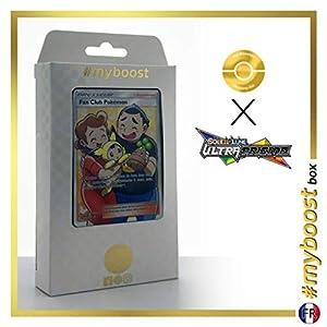 Fan Club Pokémon (Club de Fan Pokémon) 155/156 Entrenadore Full Art - #myboost X Soleil & Lune 5 Ultra-Prisme - Box de 10 Cartas Pokémon Francés