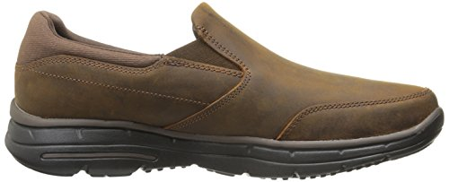 Skechers Mens Glides-calculous Scarpe Da Corsa Marrone Brown (marrone Scuro)