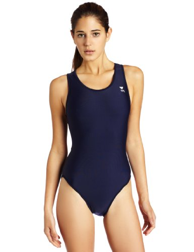 TYR Sport Women's Solid Maxback Swim Suit (Tyr Guard Womens)