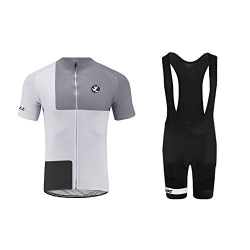 Uglyfrog Radtrikot Rennrad Herren Suit Schnell Trocken Kurzarm-Radfahren Jersey mit Hose für Mountain Biking und Outdoor Wear Triathlon Bekleidung