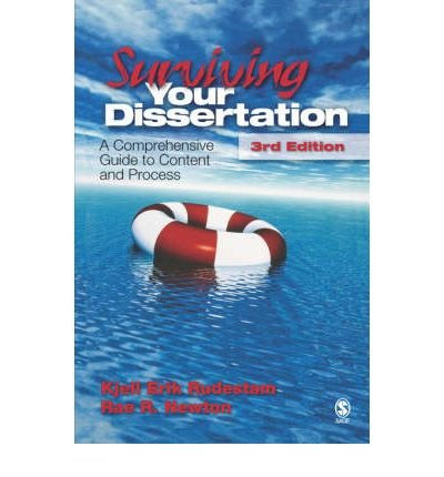 [(Surviving Your Dissertation: A Comprehensive Guide to Content and Process)] [Author: Kjell Erik Rudestam] published on (June, 2007)