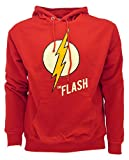 DC Comics Felpa The Flash Originale Serie TV Logo Fulmine (M Adulto)