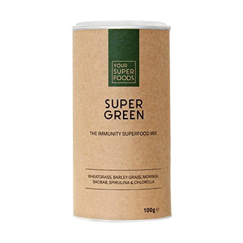 Your Superfoods - Super Green, 1er Pack ( 1 x 100 g )