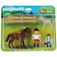 Pony Ranch 5935: Horse + Foal - Playmobil