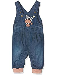 NAME IT Baby-Mädchen Jeanshose Nitbasta Bag/R Dnm Overall Mznb