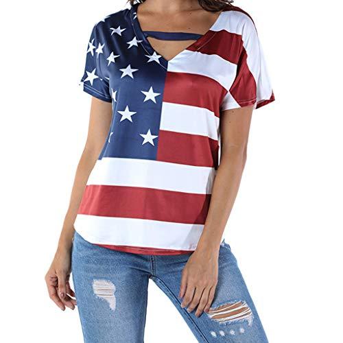 Yezijin_Damen Bekleidung YEZIJIN Fashion Frauen 3D Bedruckt, ärmellos, Tank-Top rückenfrei O-Ausschnitt Weste Casual Bluse - - Mittel