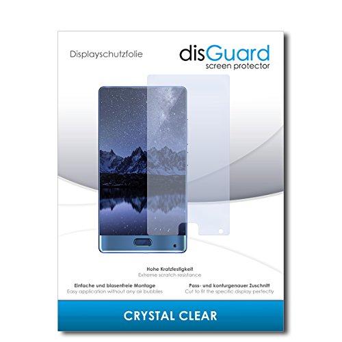 disGuard® Bildschirmschutzfolie [Crystal Clear] kompatibel mit Doogee Mix [2 Stück] Kristallklar, Transparent, Unsichtbar, Extrem Kratzfest, Anti-Fingerabdruck - Panzerglas Folie, Schutzfolie