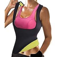 OctaveSpace Chaleco Suana Mujer Neopreno Sweat Vest para Sudoración Quema Grasa Faja Abdome Adelgazante (M, Chaleco de Sudoración)