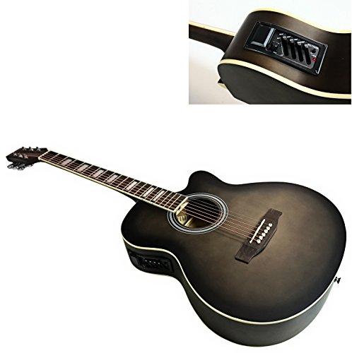 "Benson Elektroakustische Gitarre, ""Matt Satin"", volle Größe, Americano"
