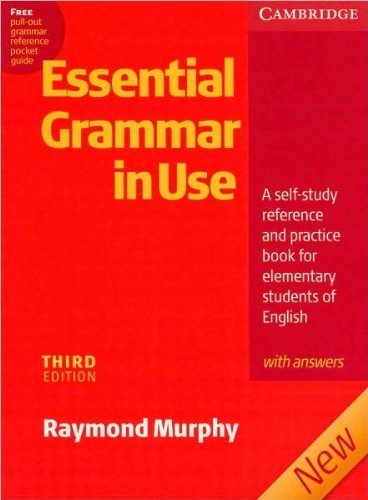 R. Murphy's Essential Grammar in Use with Answers 3rd(third) edition (Essential Grammar in Use with Answers: A Self-Study Reference and Practice Book for Elementary Students of English [Paperback])(2007)