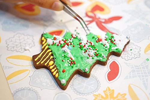 Joyoldelf 30 Moldes para Galletas Moldes Galletas Acero Inoxidable para Pastel, Cookie, Fondant