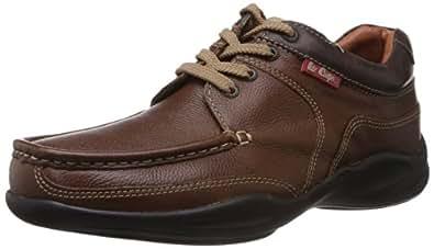Lee Cooper Men's Brown Boat Shoes - 10 UK