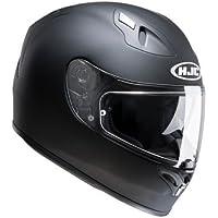 HJC 12703106 Casco de Moto, Rubbertone Negro, Talla XS