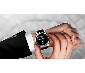 Samsung Gear S3 Classic (3,3 Cm (1,3 Zoll) Display, Nfc, Bluetooth, Wlan, Tizen Os), Mit Echtleder-armband 1