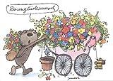 Janosch GeburtstagsPOSTkarte Riesenglückwunsch