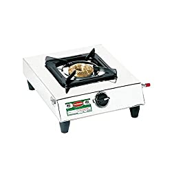 Padmini Single Burner Gas Stop (CS-101)- silver