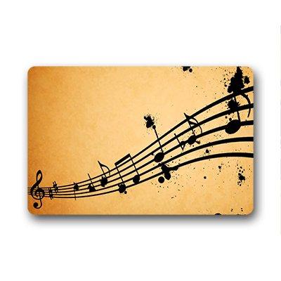 Felpudos Música al aire libre interior 23.6x15.7